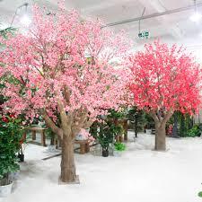 wedding decorative 2 2m indoor artificial blossom tree