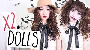 porcelain u0026 dead dolls hair makeup halloween tutorial