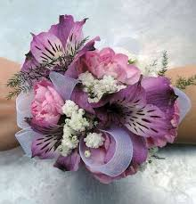 purple corsage corsage kremp