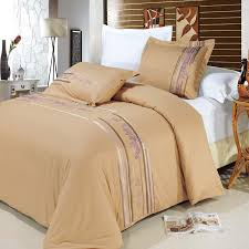 Embroidered Duvet Cover Sets Cecilia Egyptian Cotton Embroidered Duvet Cover Set