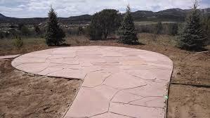 Circular Patios by Gardenhart Landscaping Durango Landcsape Design Portfolio