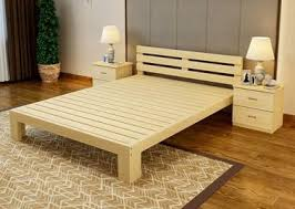 All Wood Bed Frame Solid Wood Bed Frame On Sales Quality Solid Wood Bed Frame Supplier