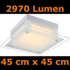 deckenleuchte k che led günstige deckenleuchte mit 3000 lumen lichtstärke für alle wohnräume