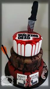 walking dead cake ideas the walking dead cake bloody time this cake http