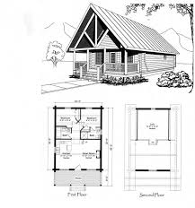 vacation cottage floor plans dead wiley cabin plan small
