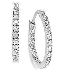 cubic zirconia earrings cubic zirconia earrings shop cubic zirconia earrings macy s