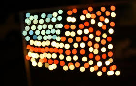 American Flag Christmas Lights Happy Holidays To Our Military I Should Be A Minimalist
