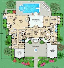 monsterhouse plans luxury style house plans 9253 square foot home 2 story 4
