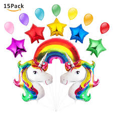 unicorn rainbow rainbow balloon columns unicorn foil balloons wholesale balloons