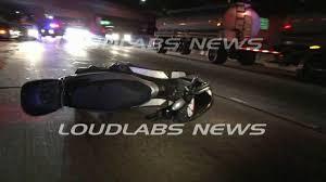 101 freeway scooter crash hollywood raw footage warning