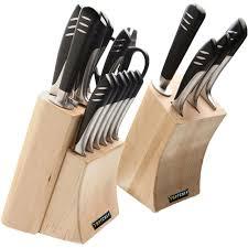top kitchen knives set top chef set 20 knife set walmart