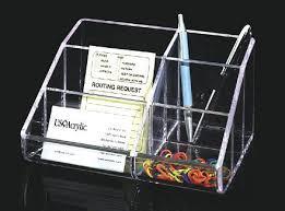 clear acrylic desk organizer homeandwine acrylic desk organizer for office amazon ca home kitchen