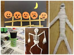 Halloween Crafts For 1st Graders Mrs Goff U0027s Pre K Tales Lots Of Halloween Craft Ideas
