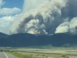 Salida Colorado Map by Fire Burning East Of Colorado Hwy 285 Between Salida And Saguache