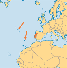 Map Of Portugal And Spain by Portugal Operation World
