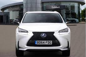 suv lexus 2014 used 2014 lexus nx 300h 2 5 f sport 5dr cvt nav for sale in