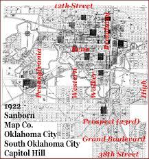 Capitol Hill Map Doug Dawgz Blog Oklahoma City Area History