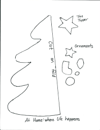 Christmas Tree Ornament Templates Christmas Tree Pattern Free Christmas Lights Decoration