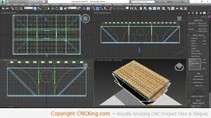 Custom CNC Laser Downdraft Table Design Part - Downdraft table design