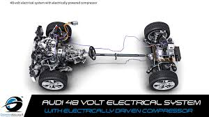 audi technology 48 volt electrical system with electrically