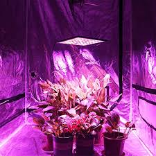 Led Grow Lights Cannabis Kingbo Reflector 45w Led Grow Light Panel 225 Leds 6 Band Full
