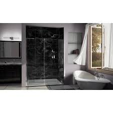 Shower Partitions Bathrooms Swinging Shower Door Glass Shower Doors Lowes