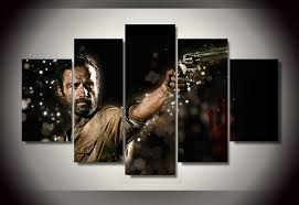 HD Printed the walking dead movie picture Painting wall art room