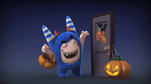 cgwatch cgi 3d animated short film oddbods trick or trick