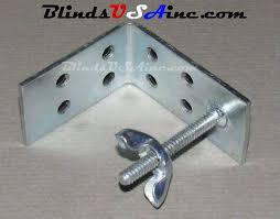 Roman Shade Hardware Kits - cellular and pleated shade parts components and mounting hardware