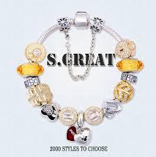 s day bracelet s day silver 925 bracelet jewelry fit pandora style