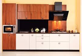 Modular Kitchen Cabinets India Modular Kitchen Design With Natural Wood Theme Kbhomes Home
