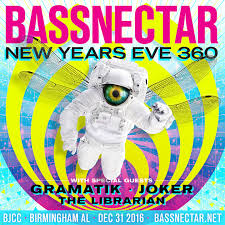 bassnectar nye poster bassnectar new year s 360 2016
