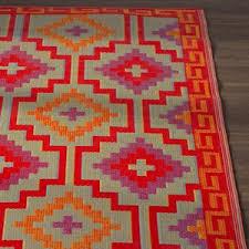 orange rugs wayfair co uk