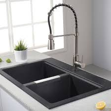 kraus commercial pre rinse chrome kitchen faucet faucet kpf 1612 in chrome by kraus