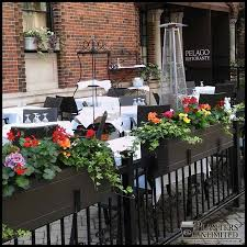 Outdoor Patio Partitions Restaurant Planters Commercial Outdoor Planters Unlimited