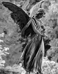 cemetery statues angel statue figure free photo on pixabay