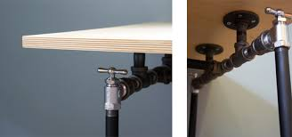 Pipe Desk Diy Diy Pipe Desk Jacobson