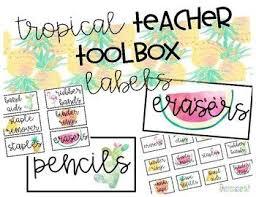 best 25 teacher toolbox labels ideas on pinterest teachers