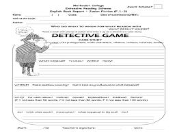 detective game 2nd 5th grade worksheet lesson planet