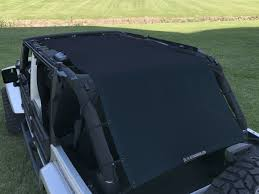 navy blue jeep wrangler 2 door alien sunshade jeep wrangler extra long full length mesh sun shade