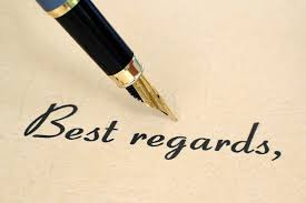 Casual Business Letter Closings With Best Regards Closing Your Letter