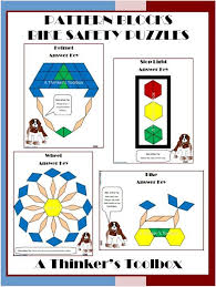 pattern block puzzles 2nd grade 65 best math puzzles images on