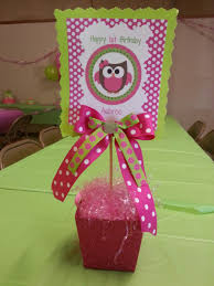 owl centerpieces interior design fresh owl themed birthday party decorations home