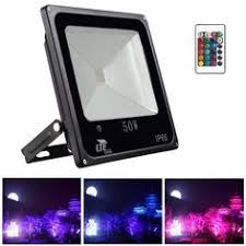 Color Changing Flood Lights Meikee 10w Remote Control Rgb Led Flood Lights Color Changing