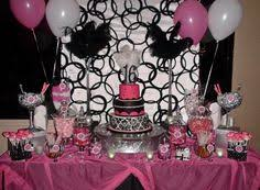 Pink And White Candy Buffet by Sweet 16 Candy Buffet Idea Candyland Catering Get This Party