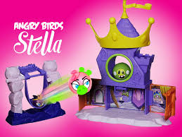 angry birds stella piggy palace telepods playset game unboxing