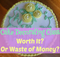 cake decorating class worth it or waste of money stapler