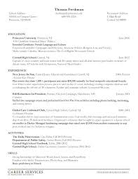 college central resume builder out of college resume fresh out of high resume sles of