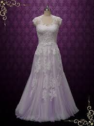 wedding dresses lavender lavender purple boho lace wedding dress korynne ieie bridal