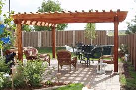 Pergola Free Plans by Benefits Free Standing Wooden Pergola Garden Landscape
